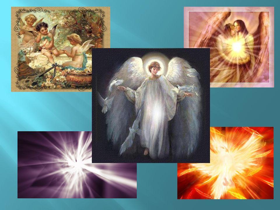 Anioły zniżyły lot, więc mała Ewa mogła im się przyjrzeć z bliska.