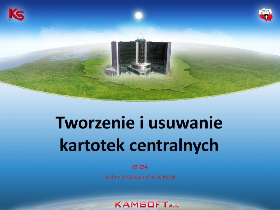 KS-ZSA System Zarządzania Siecią Aptek