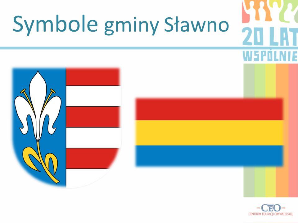 Symbole gminy Sławno
