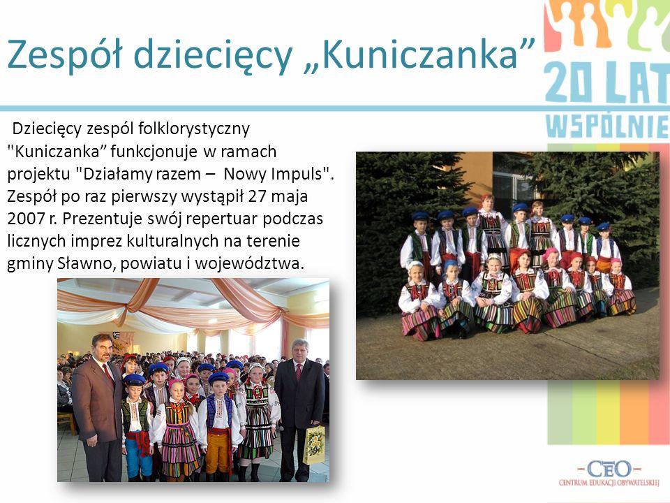 Zespół dziecięcy Kuniczanka Dziecięcy zespól folklorystyczny
