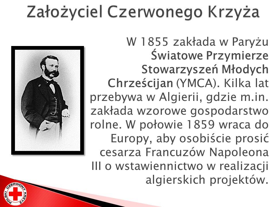 W 1855 zakłada w Paryżu Światowe Przymierze Stowarzyszeń Młodych Chrześcijan (YMCA). Kilka lat przebywa w Algierii, gdzie m.in. zakłada wzorowe gospod
