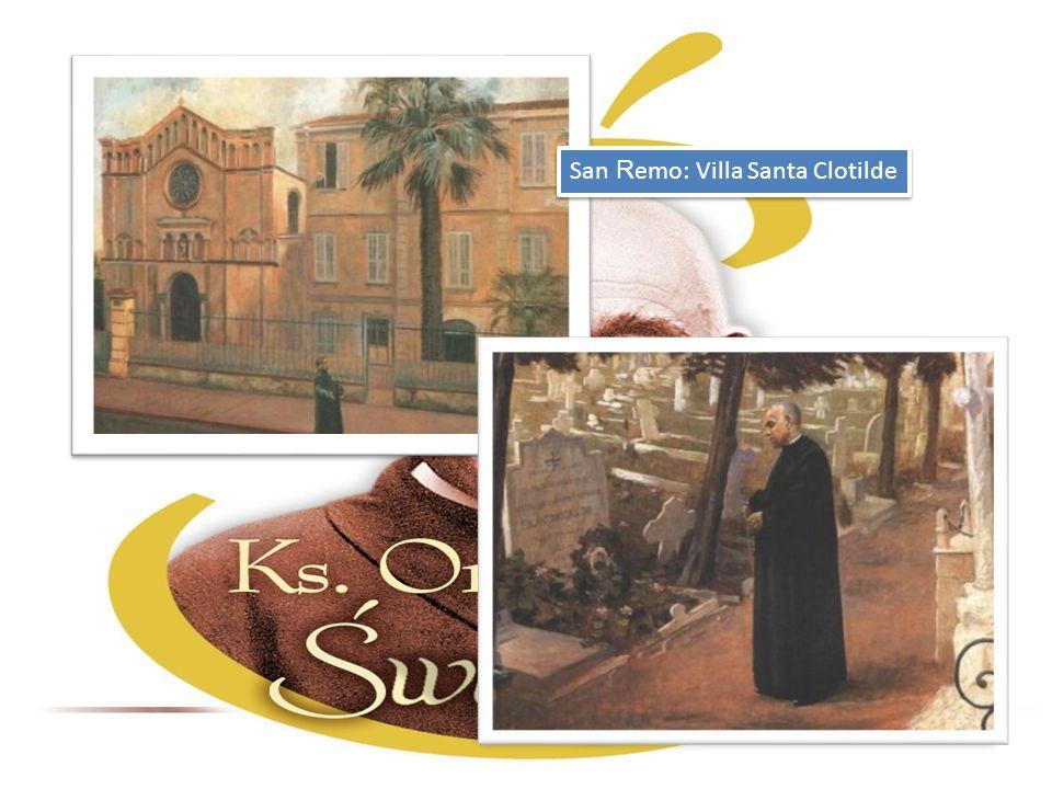 San R emo: Villa Santa Clotilde