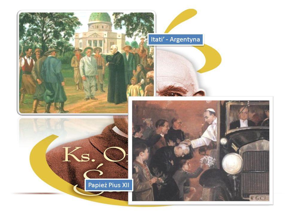Itati - Argentyna Papież Pius XII