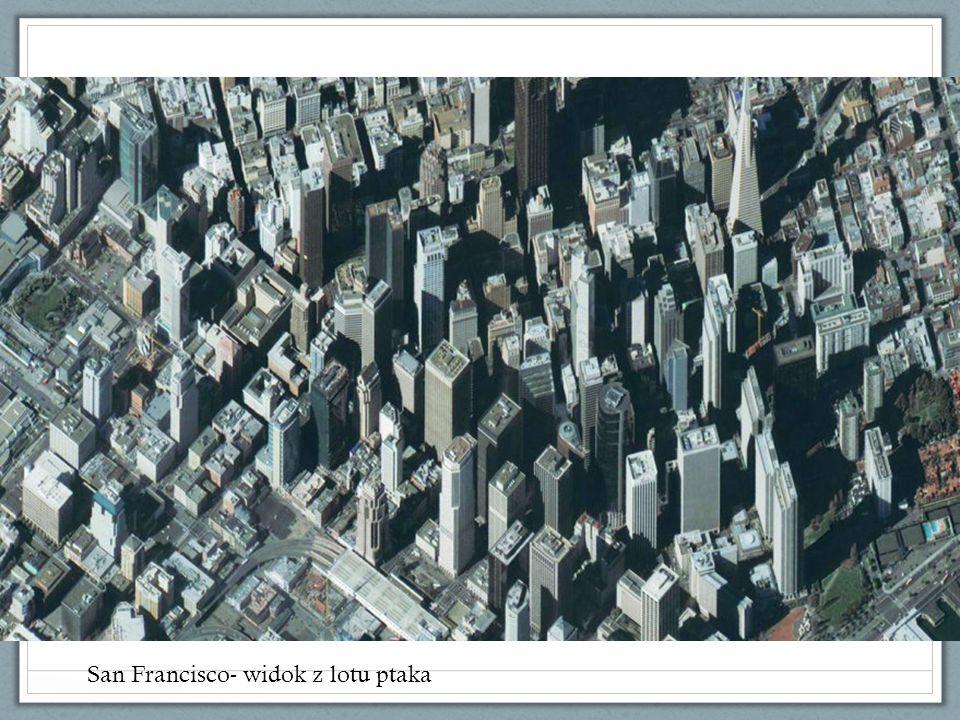 San Francisco- widok z lotu ptaka
