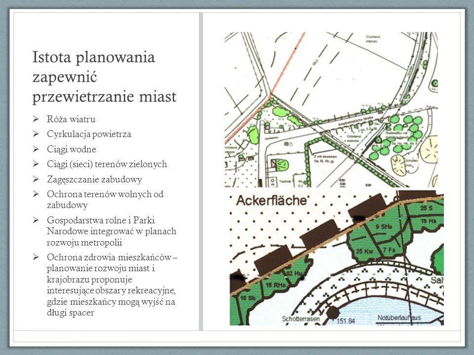 Plan ochrony krajobrazu Ma za zadanie ł agodzi ć skutki inwestycji w aspekcie ochrony przyrody i ochrony krajobrazu.