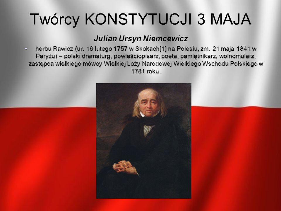 Julian Ursyn Niemcewicz herbu Rawicz (ur. 16 lutego 1757 w Skokach[1] na Polesiu, zm. 21 maja 1841 w Paryżu) – polski dramaturg, powieściopisarz, poet