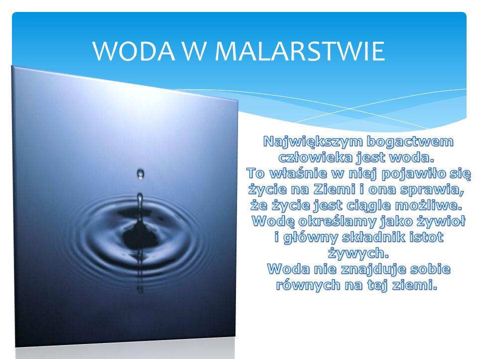 WODA W MALARSTWIE