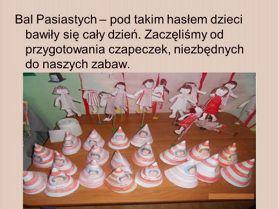 Bal Pasiastych – pod takim hasłem dzieci bawiły się cały dzień.