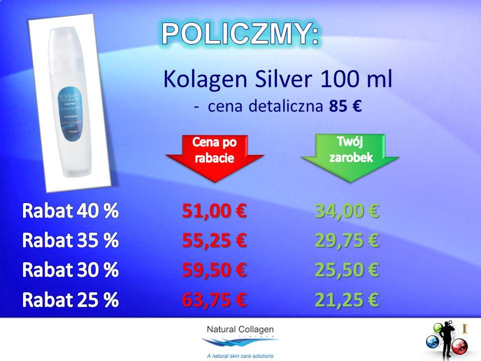 Kolagen Silver 100 ml - cena detaliczna 85