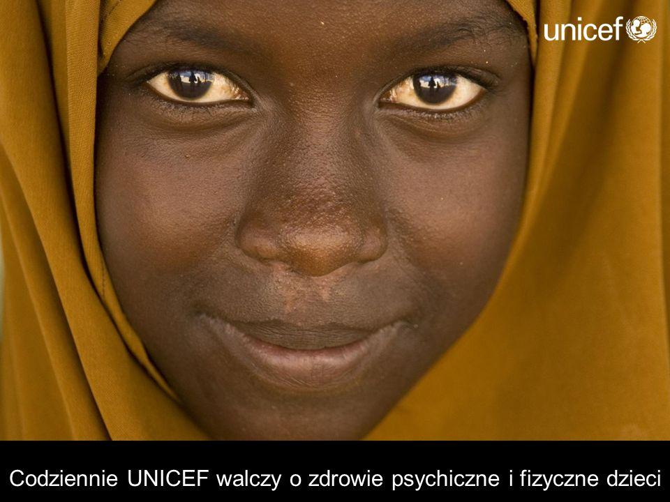 Codziennie UNICEF walczy o zdrowie psychiczne i fizyczne dzieci