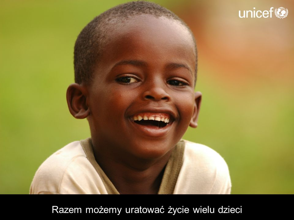 Razem możemy uratować życie wielu dzieci