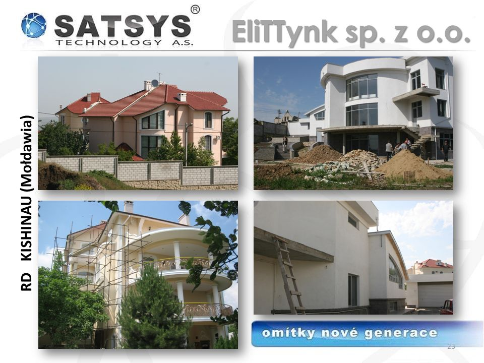 RD KISHINAU (Mołdawia) 23 EliTTynk sp. z o.o.