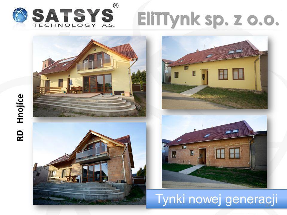 RD Hnojíce Tynki nowej generacji 24 EliTTynk sp. z o.o.