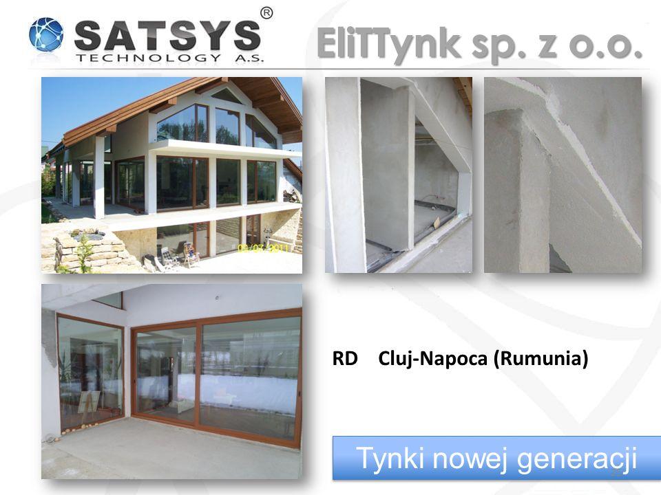 RD Cluj-Napoca (Rumunia) Tynki nowej generacji 25 EliTTynk sp. z o.o.