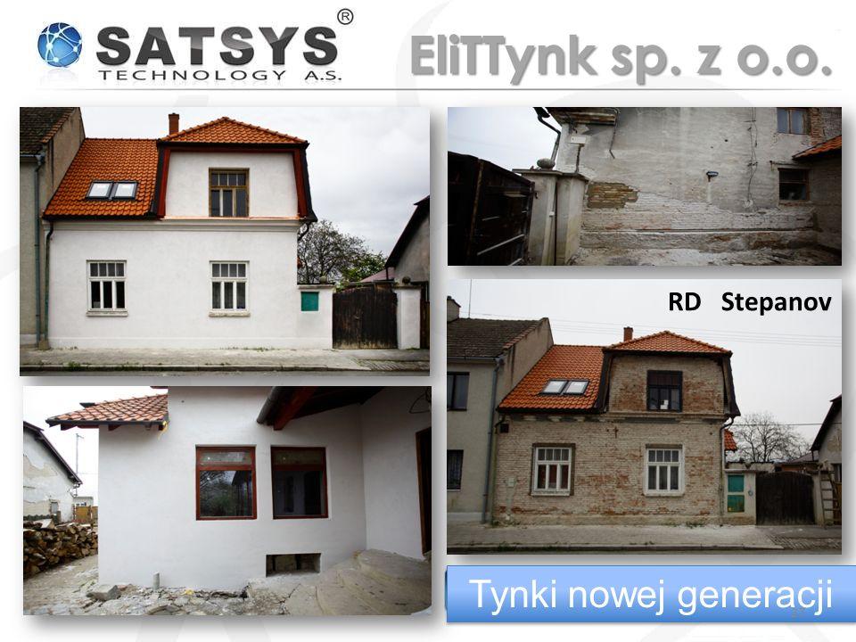 RD Stepanov Tynki nowej generacji 27 EliTTynk sp. z o.o.