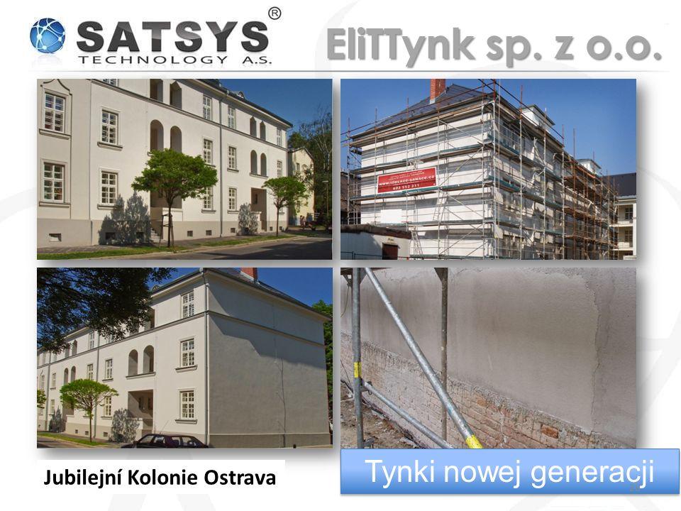Jubilejní Kolonie Ostrava Tynki nowej generacji 28 EliTTynk sp. z o.o.