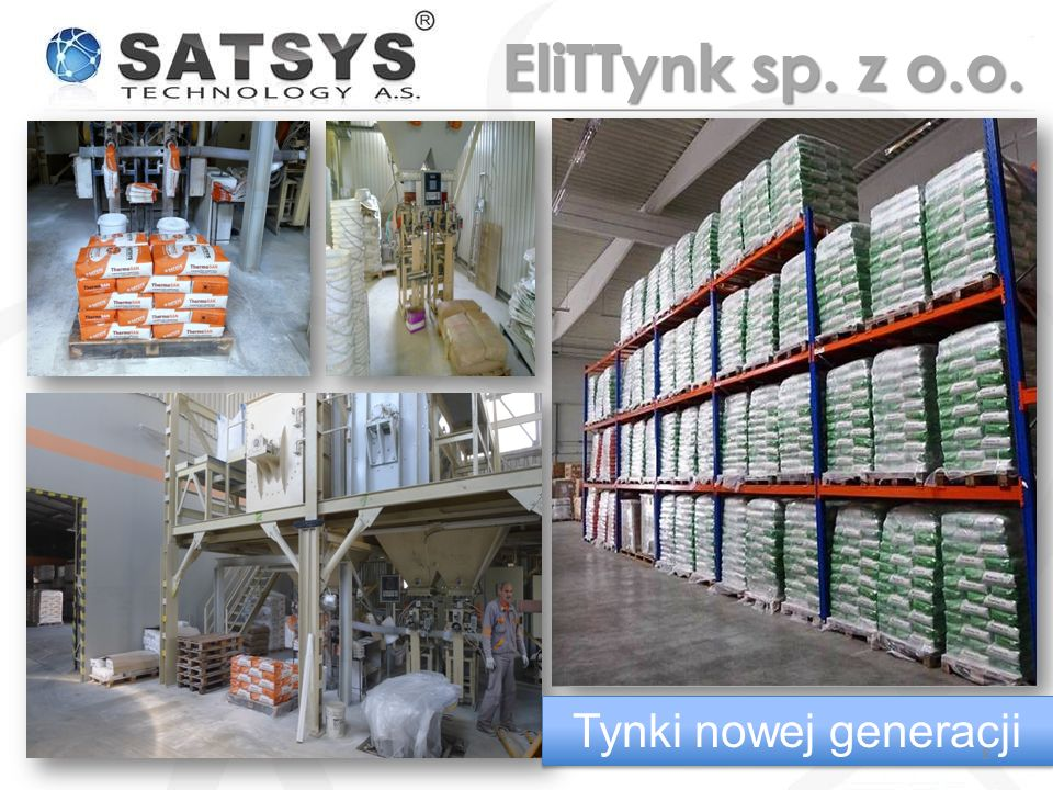 z zewnątrzod środka 3 krotne powiększenie Tynki nowej generacji 9 EliTTynk sp.