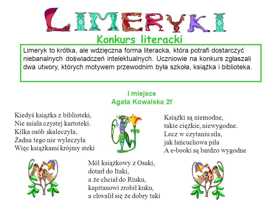 Limeryk to krótka, ale wdzięczna forma literacka, która potrafi dostarczyć niebanalnych doświadczeń intelektualnych. Uczniowie na konkurs zgłaszali dw