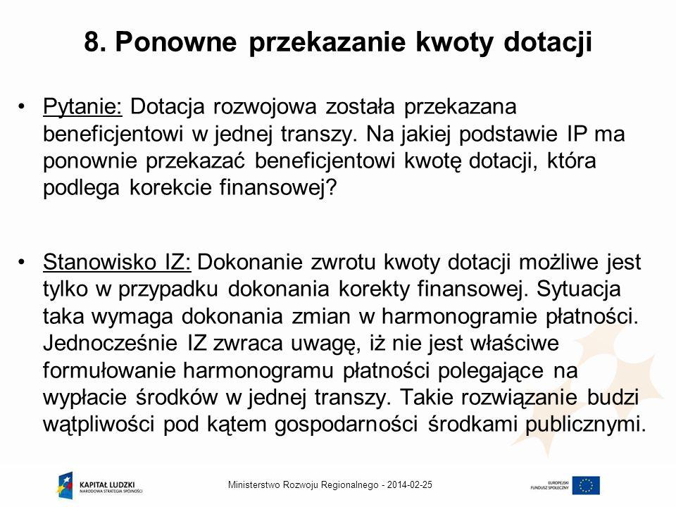 2014-02-25Ministerstwo Rozwoju Regionalnego - 8.