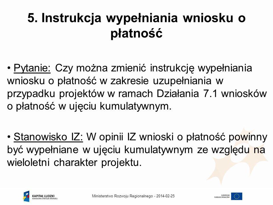 2014-02-25Ministerstwo Rozwoju Regionalnego - 5.