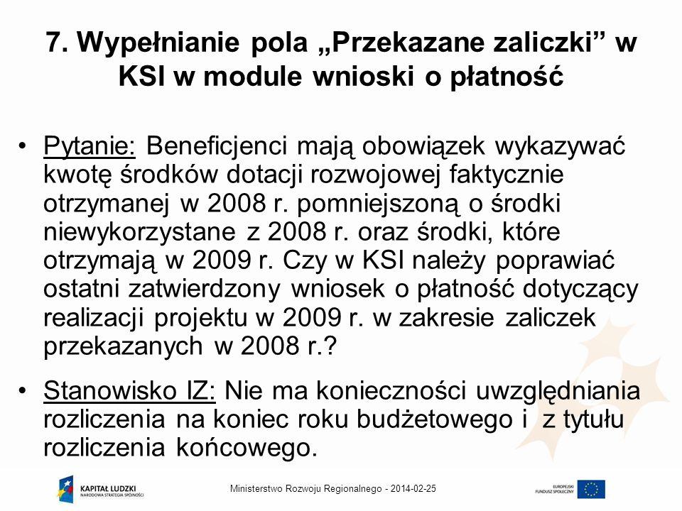 2014-02-25Ministerstwo Rozwoju Regionalnego - 7.