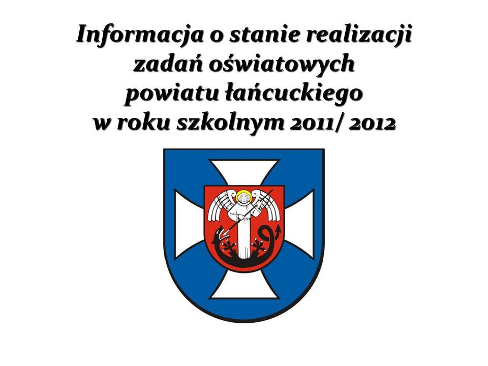 Liczba dzieci urodzonych w gminach Powiatu Łańcuckiego w latach 1984 – 2010