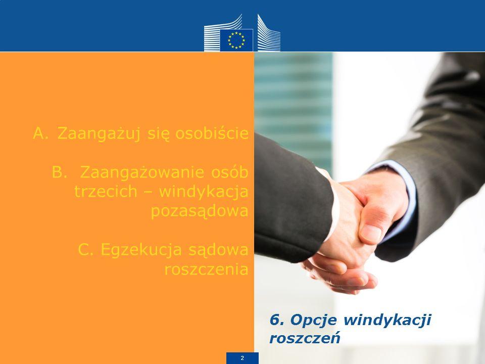 I.Zaangażowanie agencji windykacyjnej 1.