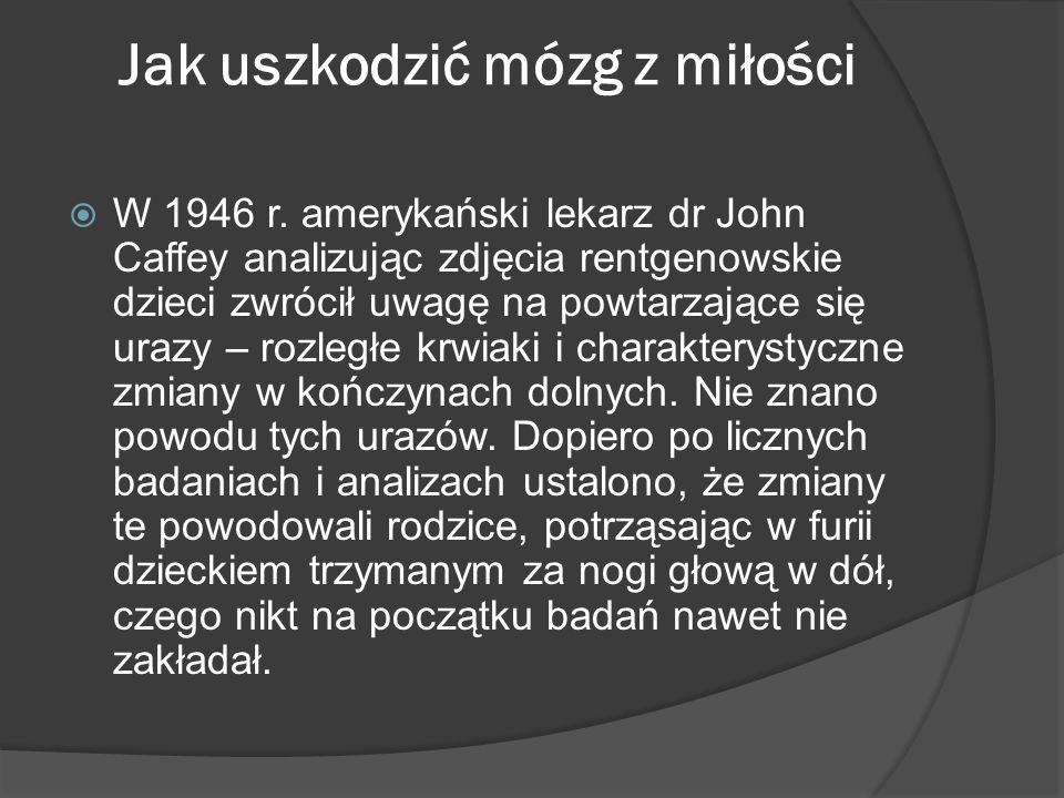 Zespół Dziecka Maltretowanego W 1961 r.