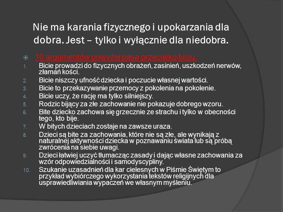Czarna pedagogika - długie wieki katowania dzieci.