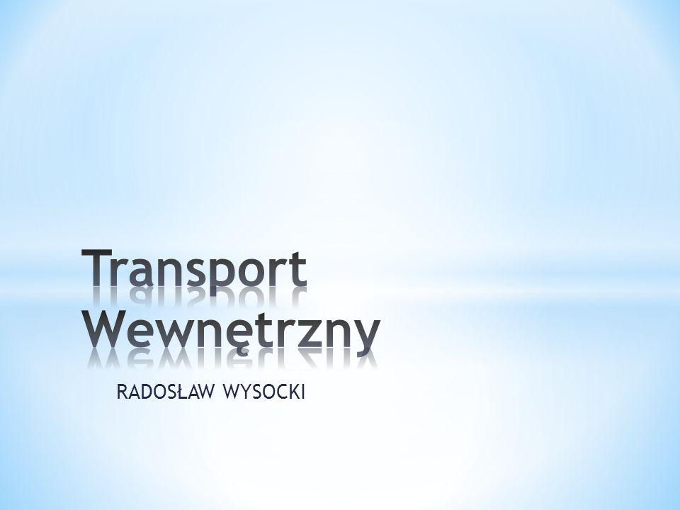 W zależności od rozmieszczenia punktów nadania i odbioru stosuje się następujące trzy rodzaje systemów organizacji transportu wewnętrznego : * Wahadłowy- ma miejsce w transporcie między dwoma punktami, któremu regułą jest przewóz ładunków tylko w jedną stronę.