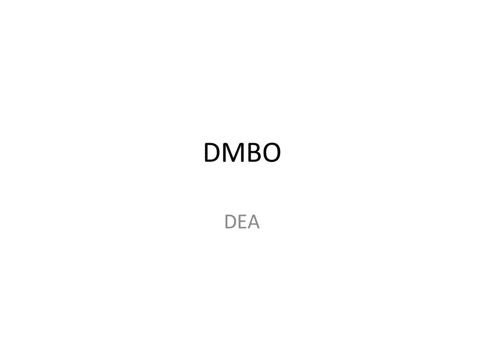 DMBO DEA