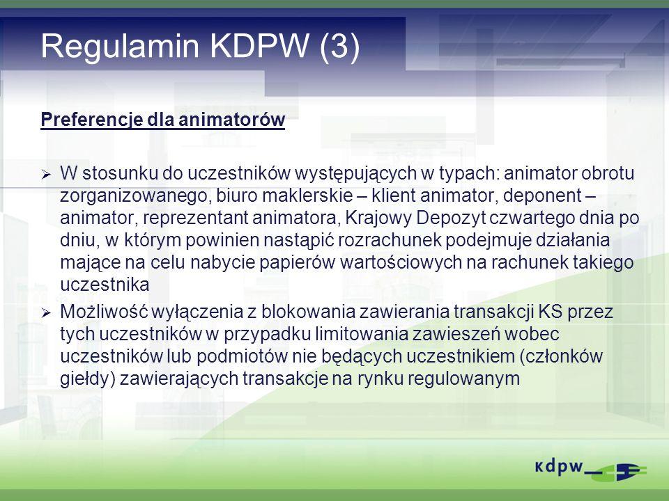 Zasady rekomendowane przez IOSCO dot.KS (1) I.