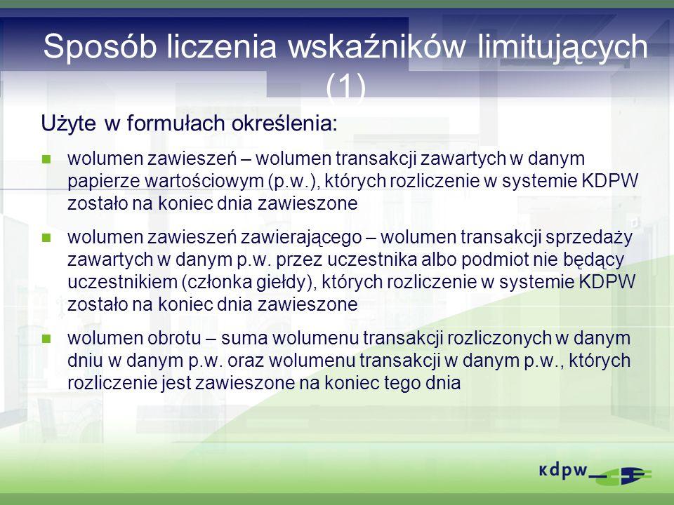 Zasady rekomendowane przez IOSCO dot.KS (2) II.