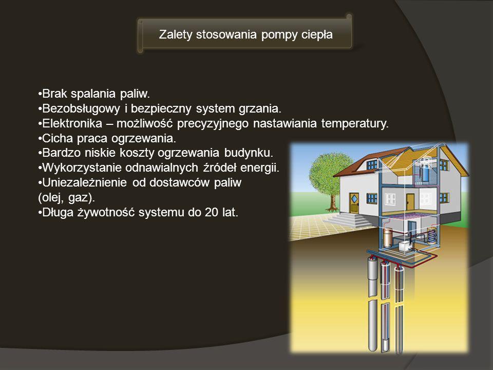 Brak spalania paliw. Bezobsługowy i bezpieczny system grzania. Elektronika – możliwość precyzyjnego nastawiania temperatury. Cicha praca ogrzewania. B