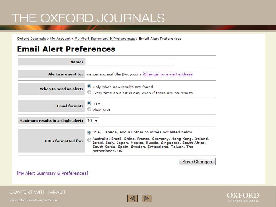 Wybrane preferencje alertowe mogą być modyfikowane.