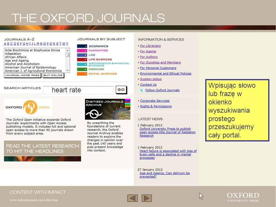 … lub wchodząc w kolekcję tematyczną. Zwróć uwagę na artykuły w wolnym dostępie.