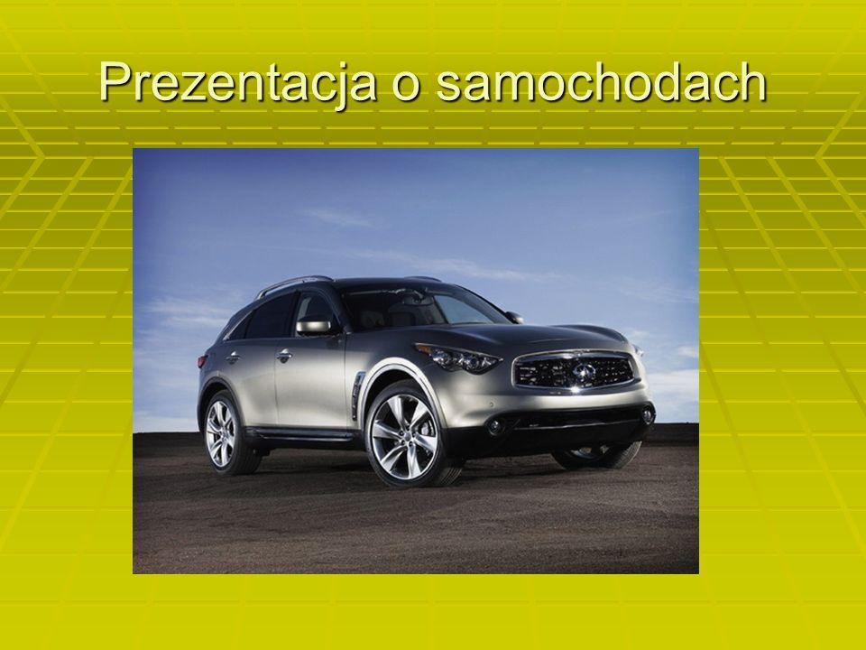 Prezentacja o samochodach