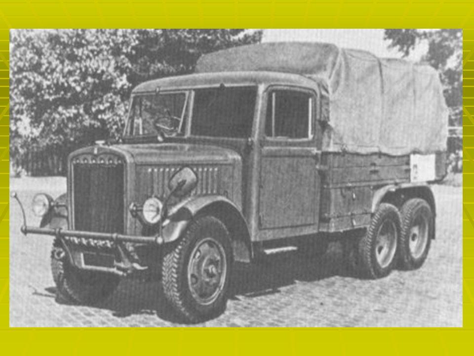 Samochody ciężarowe Samochód ciężarowy - pojazd mechaniczny, silnikowy, przeznaczony do przewozu towarów, ciągnięcia naczepy, przyczep lub do przewozu