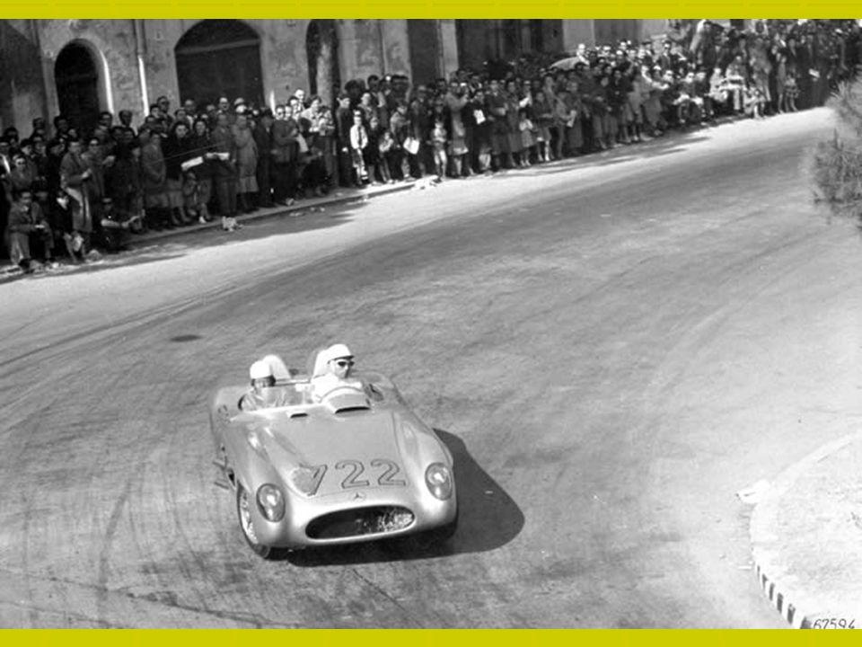 Mille Miglia Mille Miglia – historyczny rajd samochodowy przebiegający drogami publicznymi północnych Włoch, organizowany w latach 1927-1957. Od 1977