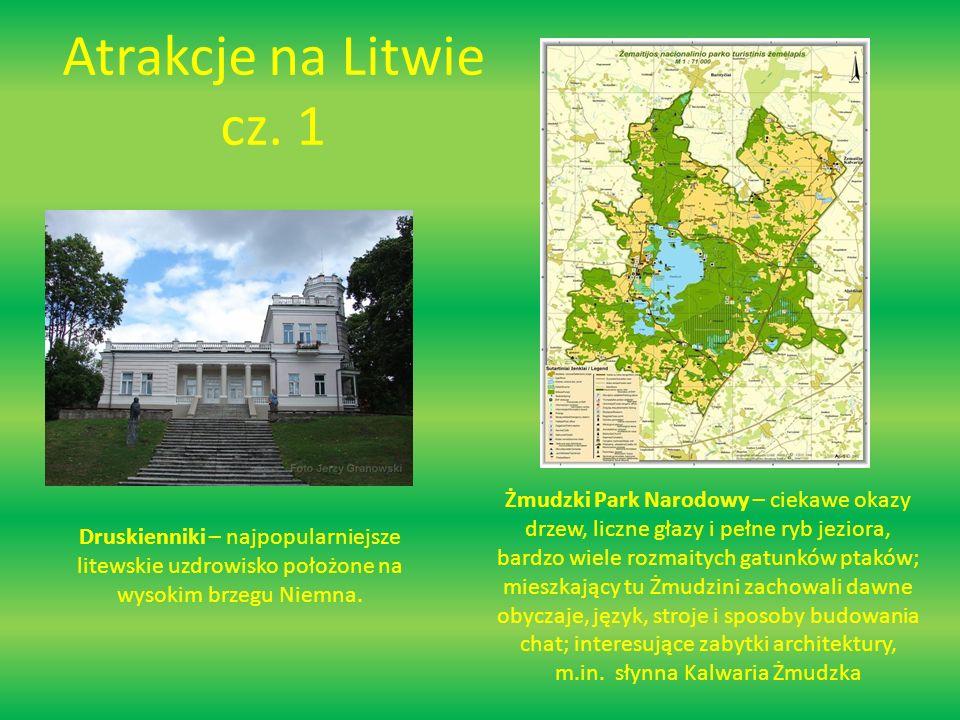 Atrakcje na Litwie cz.