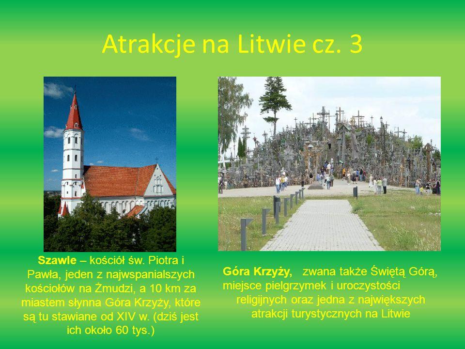Atrakcje na Litwie cz.3 Szawle – kościół św.