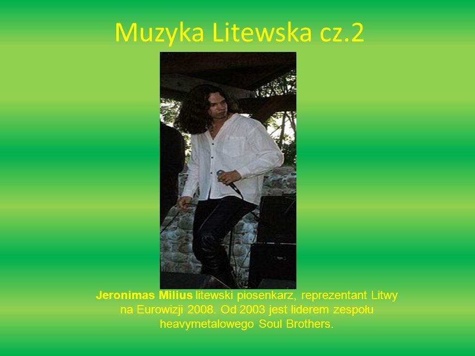 Muzyka Litewska cz.3 Sasha Son Jest litewskim piosenkarzem, który śpiewa muzykę Pop.