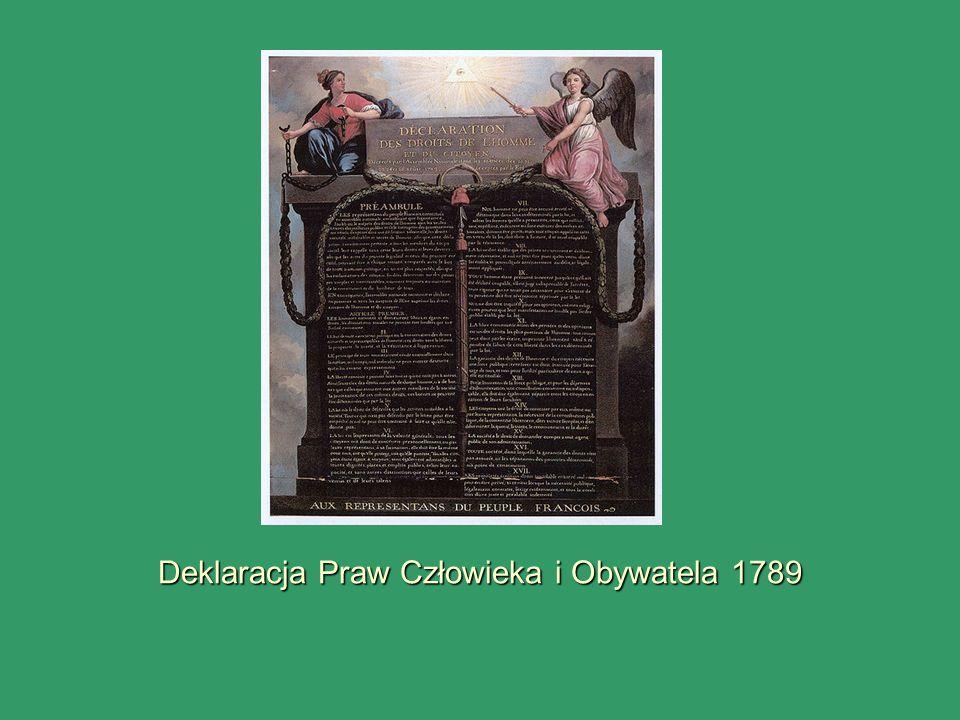 Deklaracja Praw Człowieka i Obywatela 1789