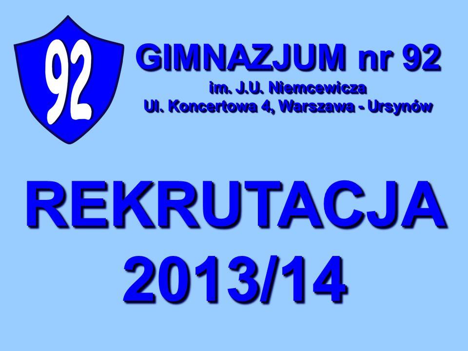 Dogodny dojazd autobusami ZTM: 136, 179, 193, 195, 209, 210 Szkoła położona jest w sąsiedztwie stacji metra URSYNÓW Położenie 02-787 Warszawa, ul.