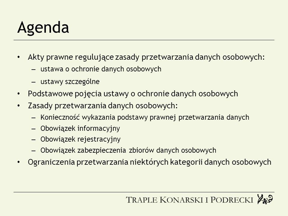 Obowiązek informacyjny (2) Zbieranie danych nie od osób, których dane dotyczą (art.