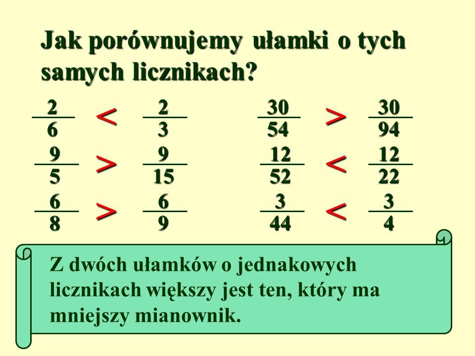 Podane ułamki wpisz w kolejności malejącej do tabelki. Poniżej zapisz odpowiadające im litery. SNISZUEE ( U ) 1 3 ( Z ) 1 8 ( N ) 115 ( S ) 1 2 ( I )