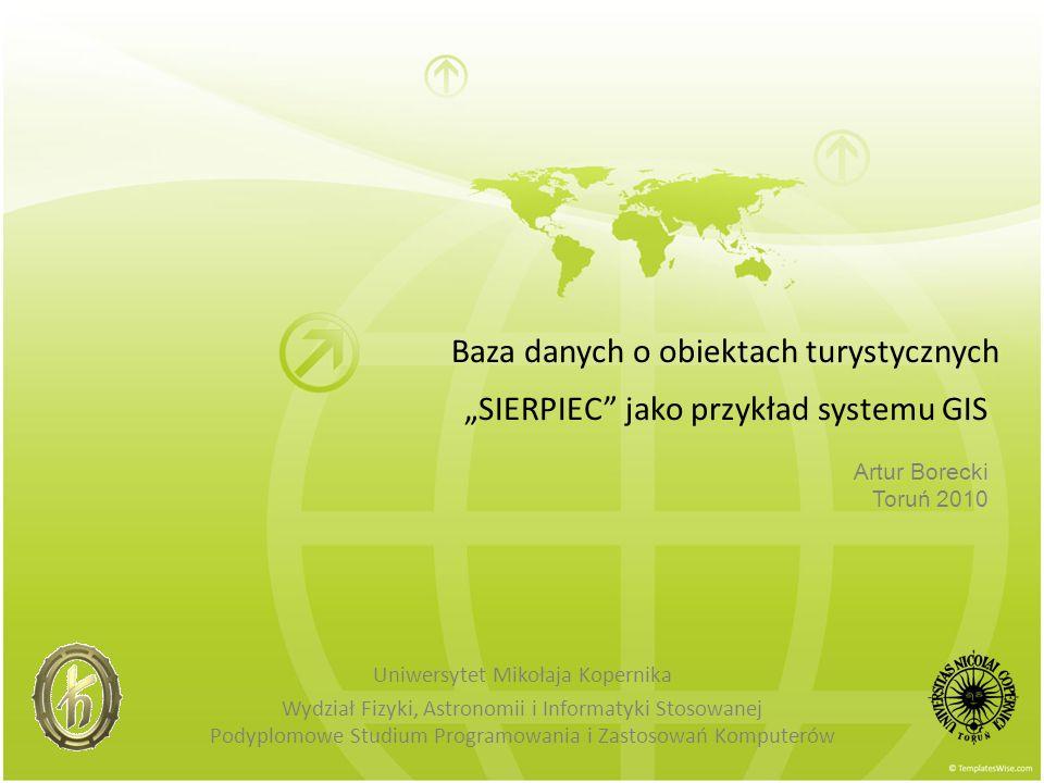 Analizy w bazie SIERPIEC SPATIAL INTERSECTION...