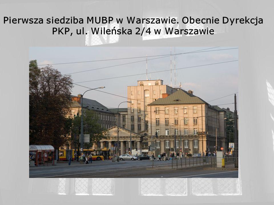 Więzienie Mokotów I oraz areszt śledczy Ministerstwa Bezpieczeństwa Publicznego Warszawa, ul.