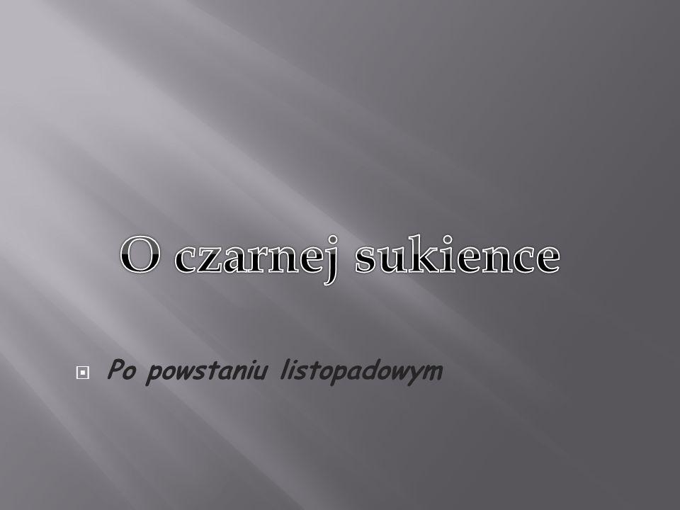zakończ Dziękuję za uwagę Prezentację przygotowała Aleksandra Pobiedzińska na podstawie książki Bożeny Krzywobłockiej,, O czarnej sukience i powstańczej dwururce