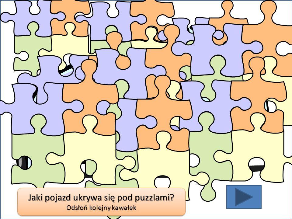 Jaki pojazd ukrywa się pod puzzlami? Odsłoń kolejny kawałek Jaki pojazd ukrywa się pod puzzlami? Odsłoń kolejny kawałek